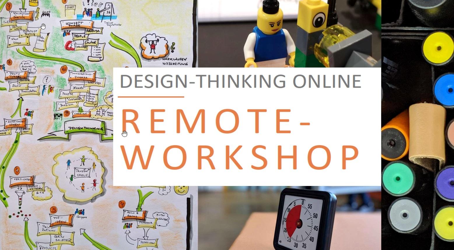 """Online-Workshop """"Zielgruppen & Kernangebote"""" DesignThinking"""